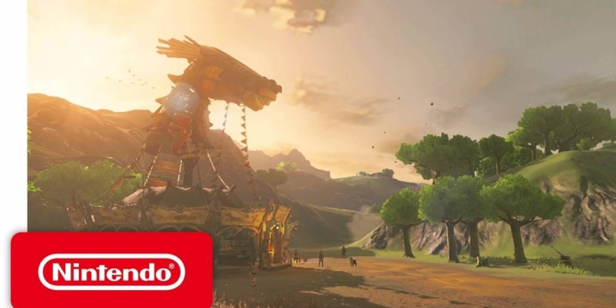 Presentan nuevo tráiler de The Legend of Zelda: Breath of the Wild