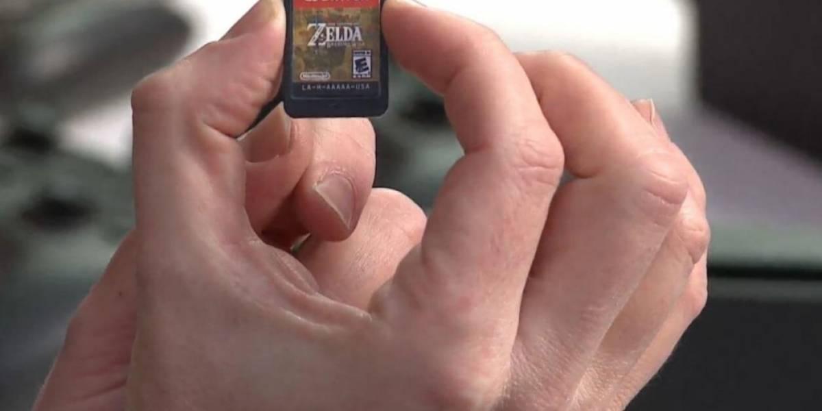 Los cartuchos de la Switch tienen un sabor horrible, pero existe una buena razón para eso