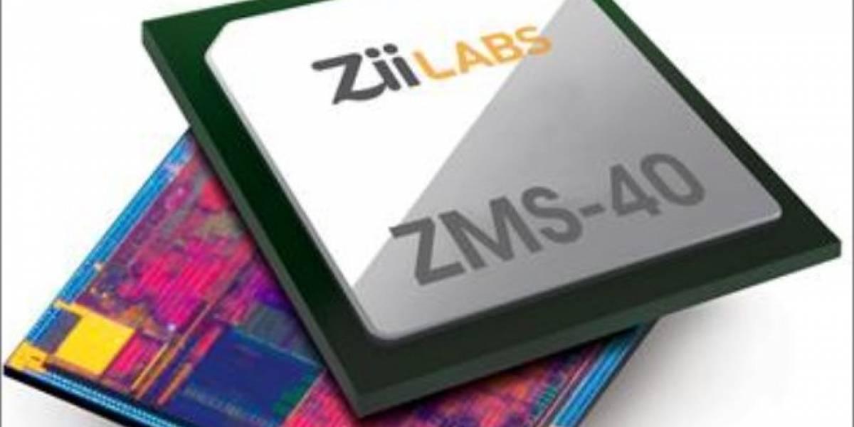 ZiiLABS ZMS-40: SoC ARM cuádruple núcleo + GPU con 96 Cores