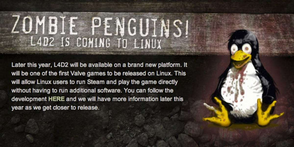 Steam y Left 4 Dead 2 para Linux llegarán este año 2012