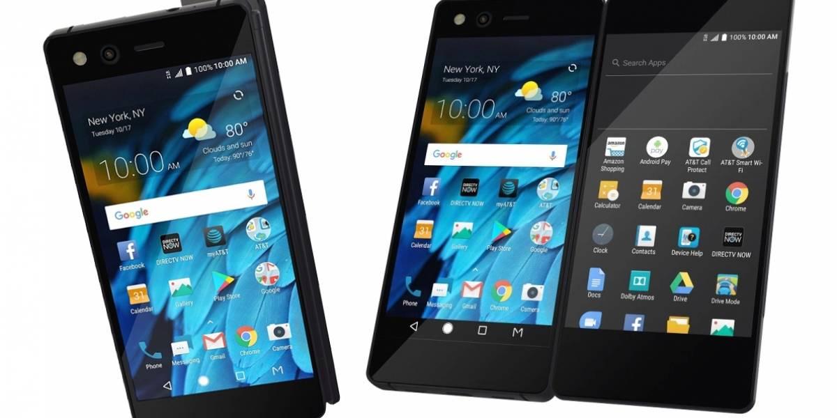 ZTE Axon M es un smartphone de doble pantalla al frente y atrás, literalmente