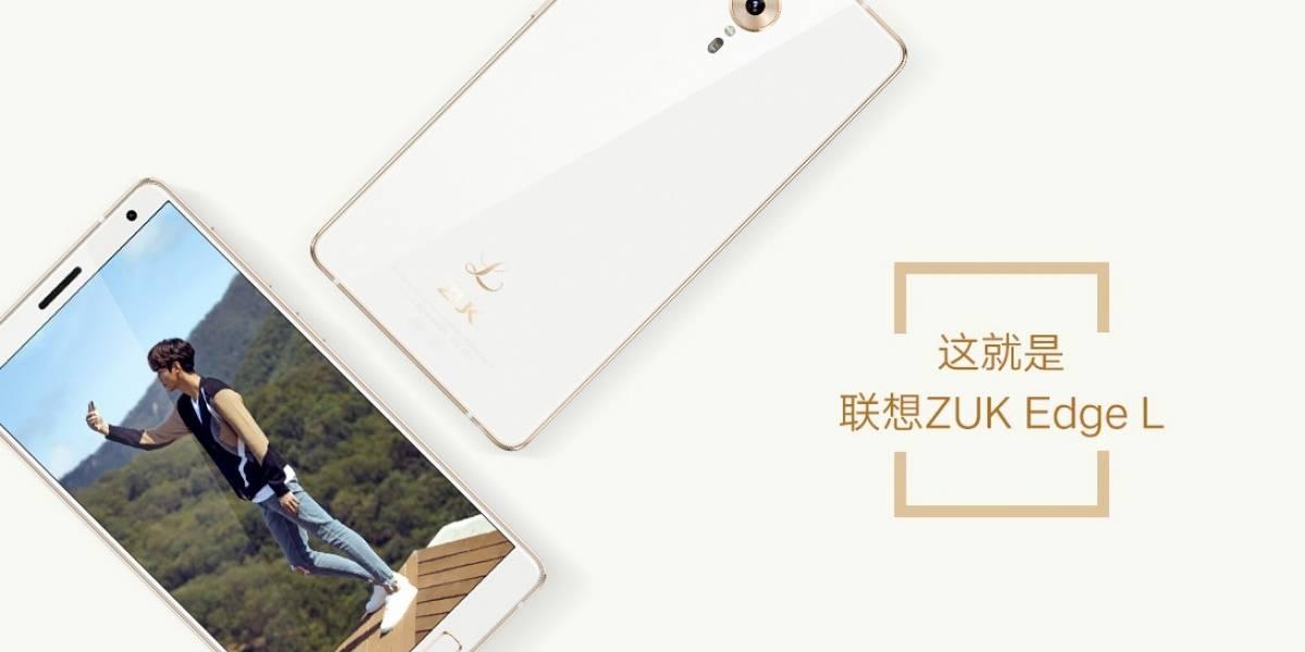 Lenovo ZUK Edge sigue la tendencia de smartphones sin bordes