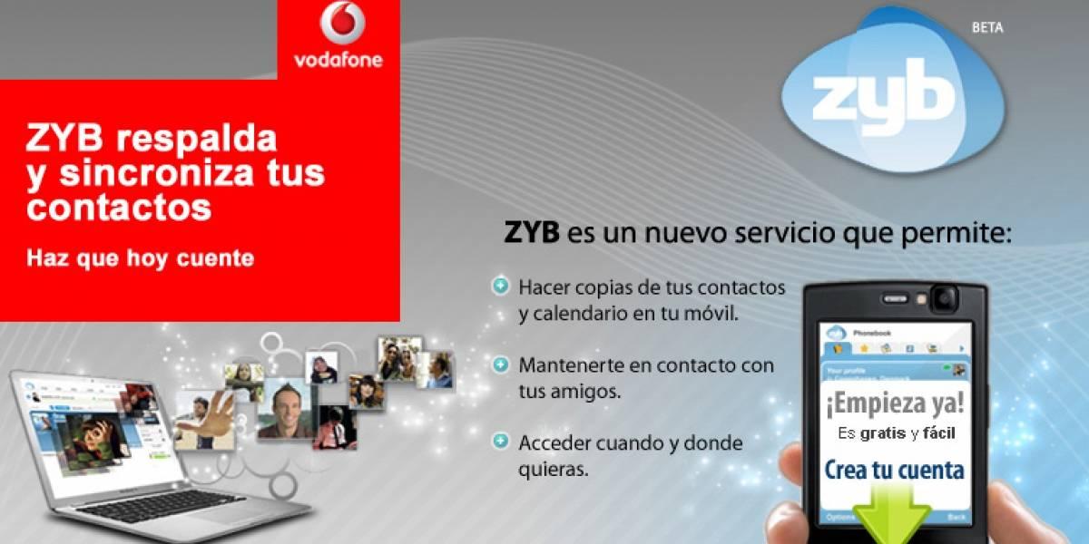 Respalda tu agenda de contactos gratis con ZYB, un nuevo servicio de Entel PCS