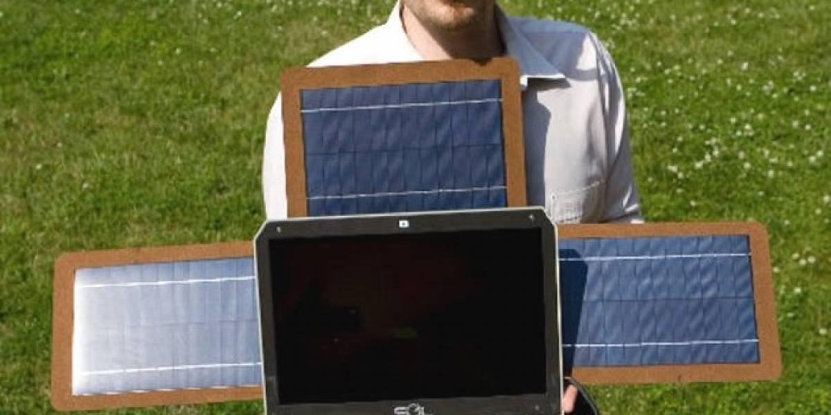 SOL: La laptop con paneles solares y 10 horas de batería