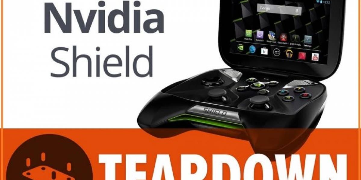 Muestran la consola Nvidia Shield desarmada