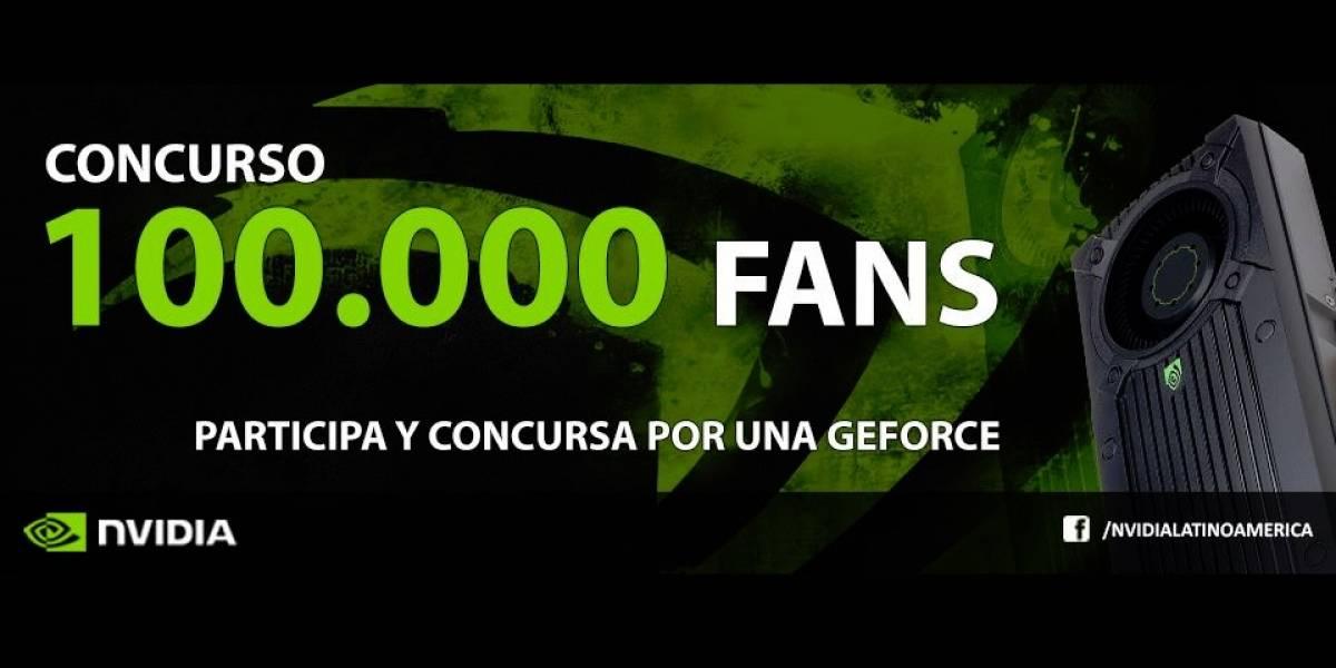 NVIDIA 100 mil fans: Concurso para los seguidores de NVIDIA en América Latina