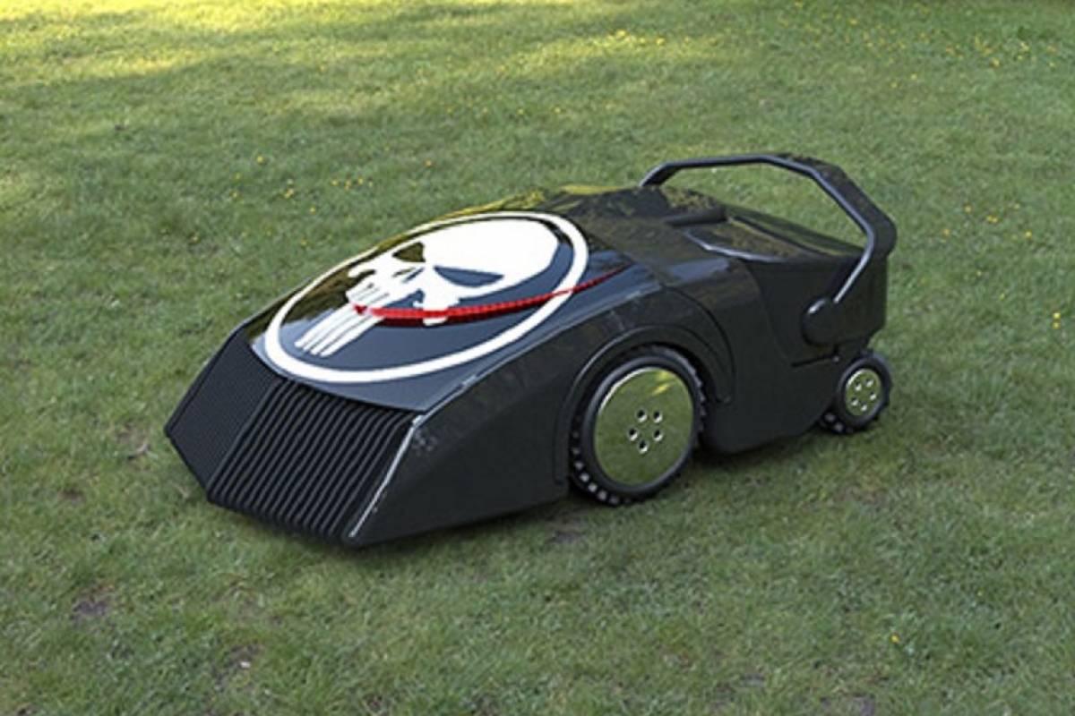 Diseñan cortadora de césped que utiliza hierba como combustible