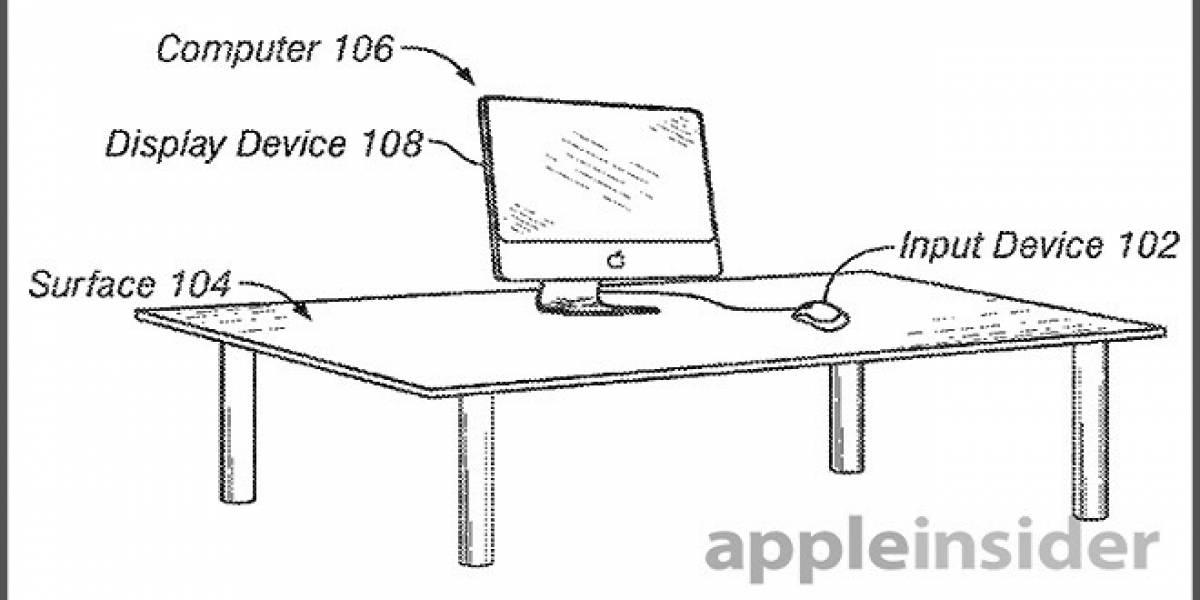 Nueva patente de Apple detalla  un dispositivo de entrada híbrido