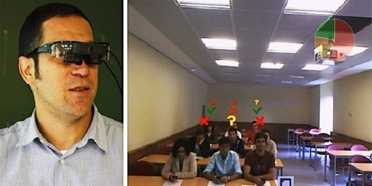 Investigadores españoles diseñan sistema de realidad aumentada para mejorar la comunicación entre alumnos y profesor