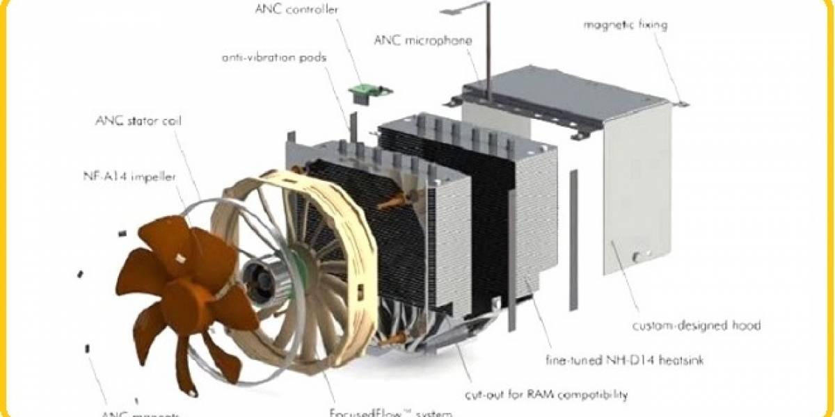 Noctua presenta un cooler para CPU con un sistema que anula el ruido