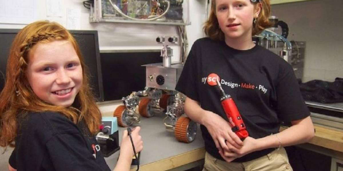 Padre y sus hijas fabrican robot Mars Rover similar al de la NASA