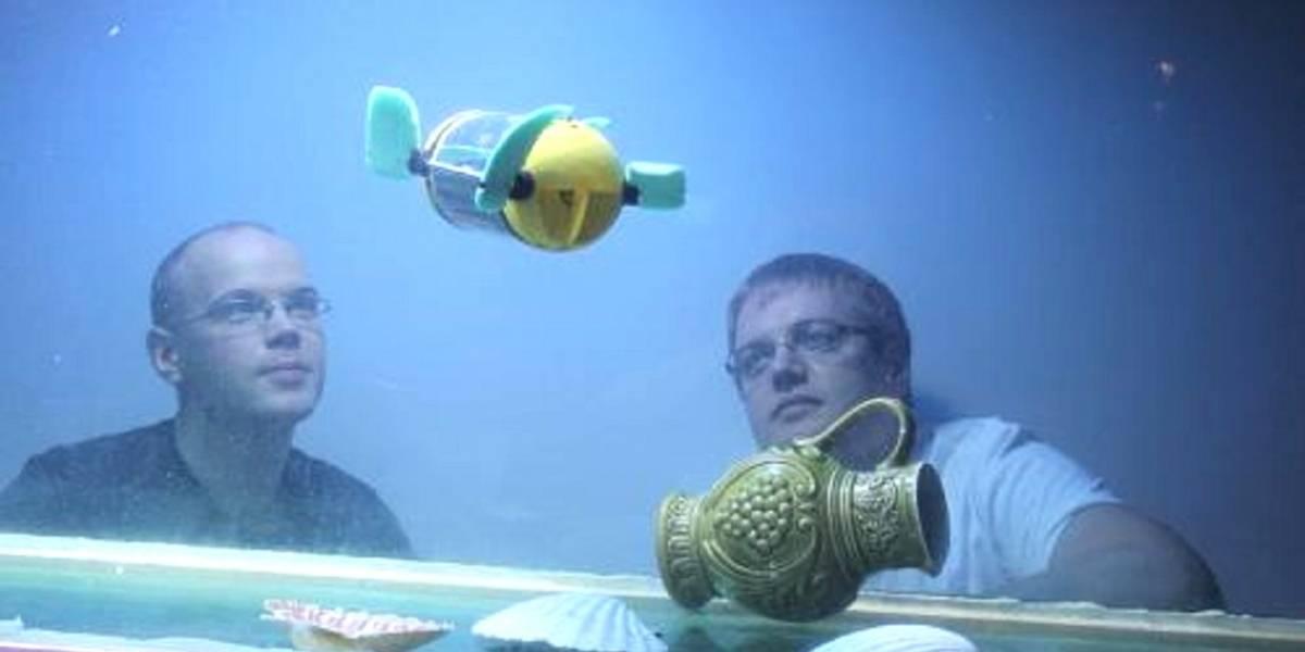 u-CAT: El robot tortuga de mar para exploración de naufragios