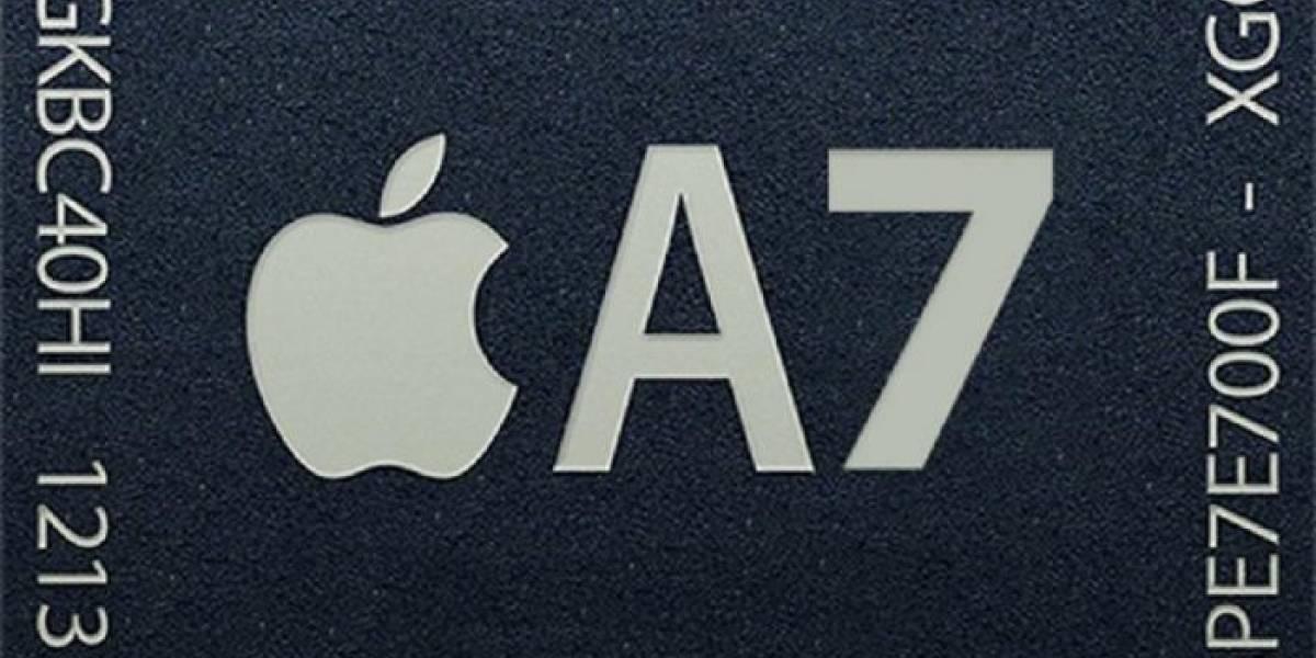 Un código del iOS 7 sugiere que el chip A7 será fabricado por Samsung