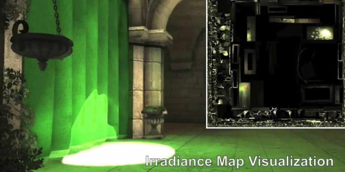 NVIDIA CloudLight: Iluminación indirecta procesada en la nube