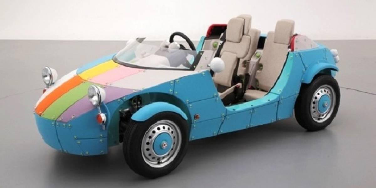 Camatte57s: El coche eléctrico de Toyota para que niño y padre dejen la consola y conduzcan juntos un auto de verdad