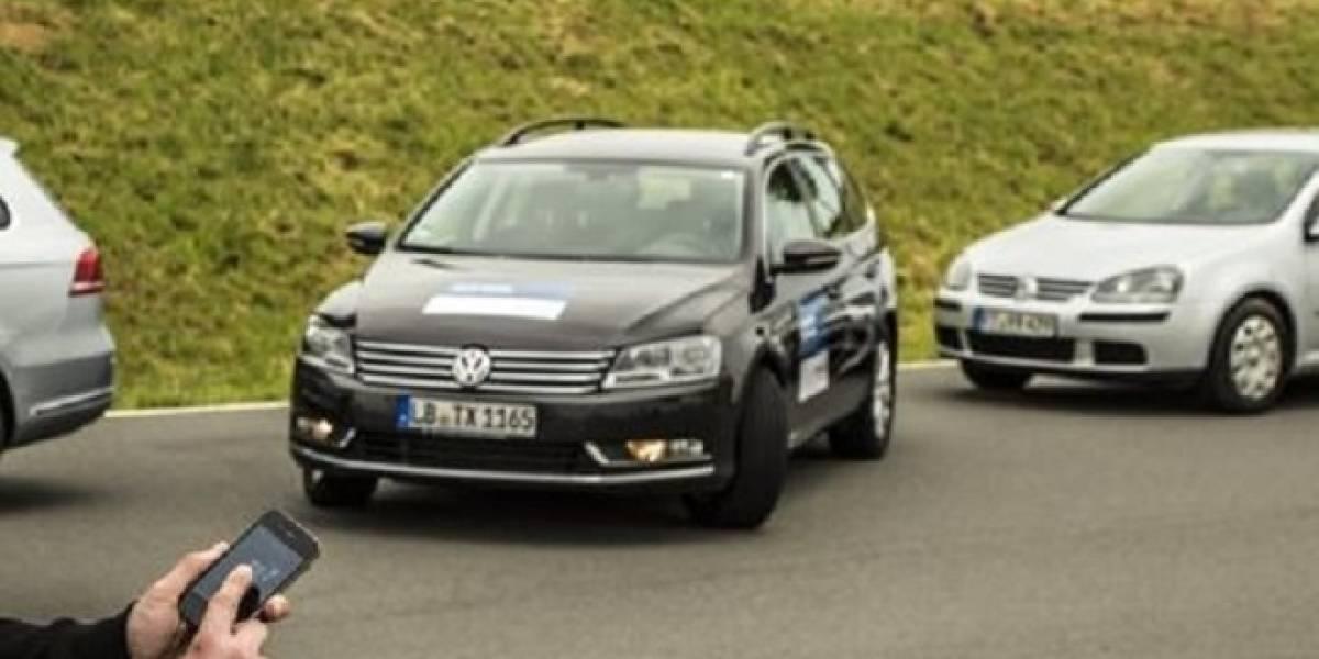 Bosch presenta su sistema de estacionamiento automático activado por smartphone