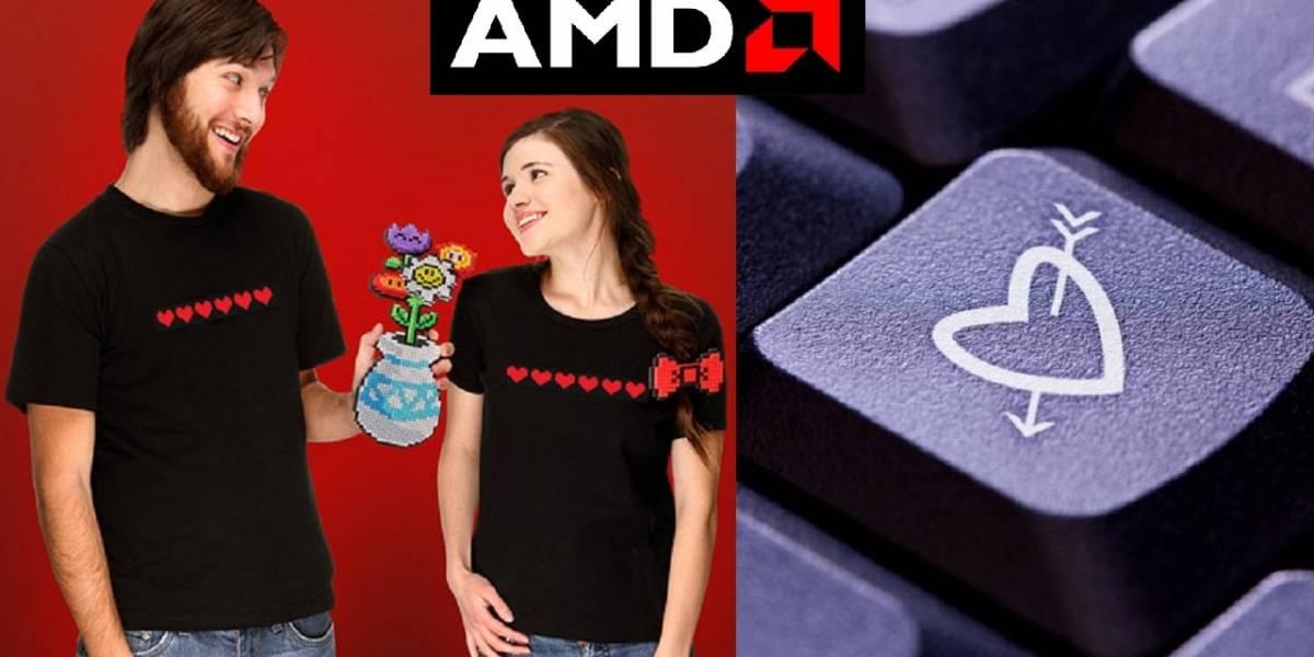 """Geek de AMD arma PC """"especial"""" para pedir en matrimonio a su novia"""