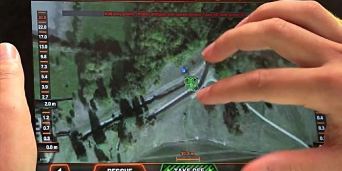 Flight Recorder: Un GPS especial para teledirigir drones con Google Maps