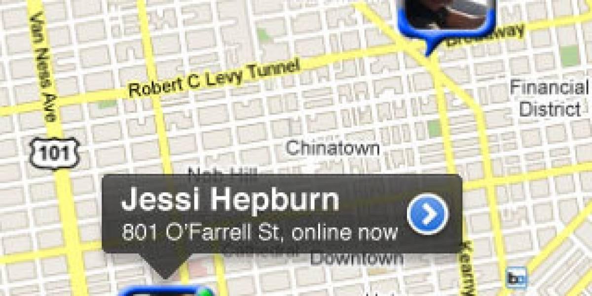 Mobcast: Geolocalizando tus amigos de Facebook