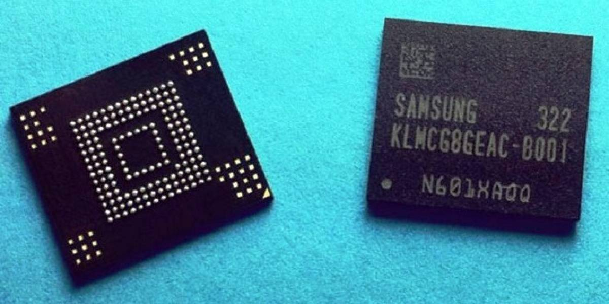 Samsung comienza producción masiva de memoria integrada ultra rápida para smartphones y tablets del mañana