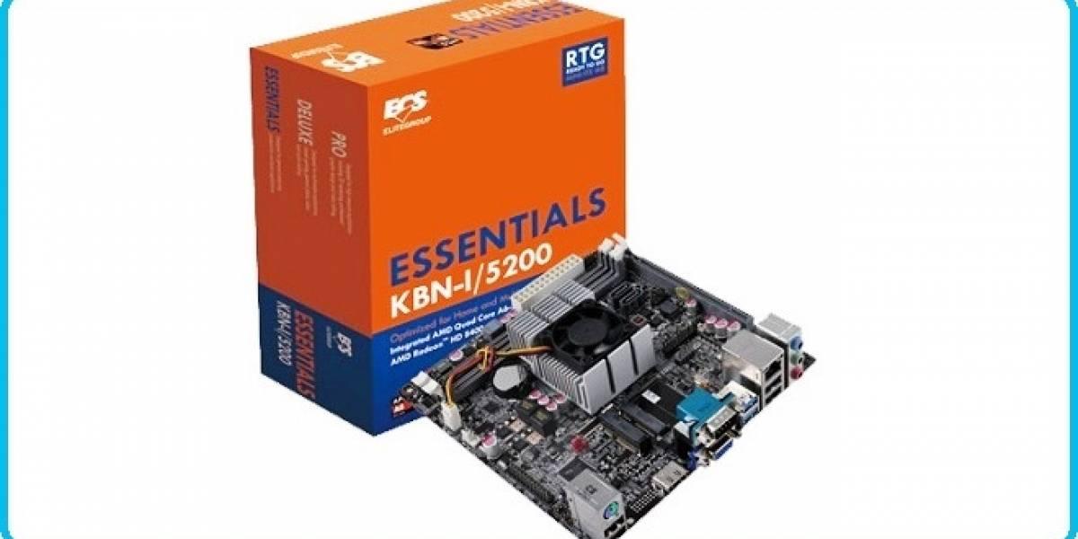 ECS anuncia su primera placa madre AMD Kabini KBN-I