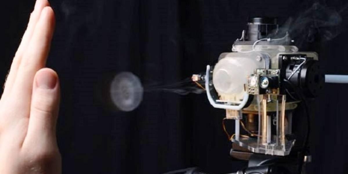 Disney presenta AIREAL: La tecnología de videojuego de sensación táctil por aire comprimido