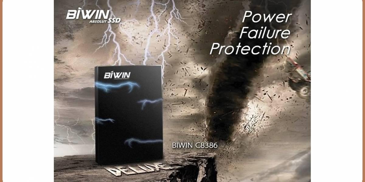 BIWIN anuncia su SSD C8386 con tecnología de protección contra el fallo de energía