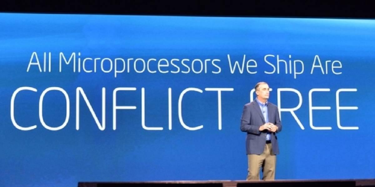 Intel define su política de metales provenientes de región en guerra