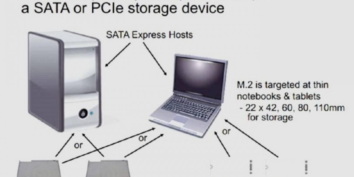 Ratifican SATA 3.2 con SATA Express para SSDs más veloces