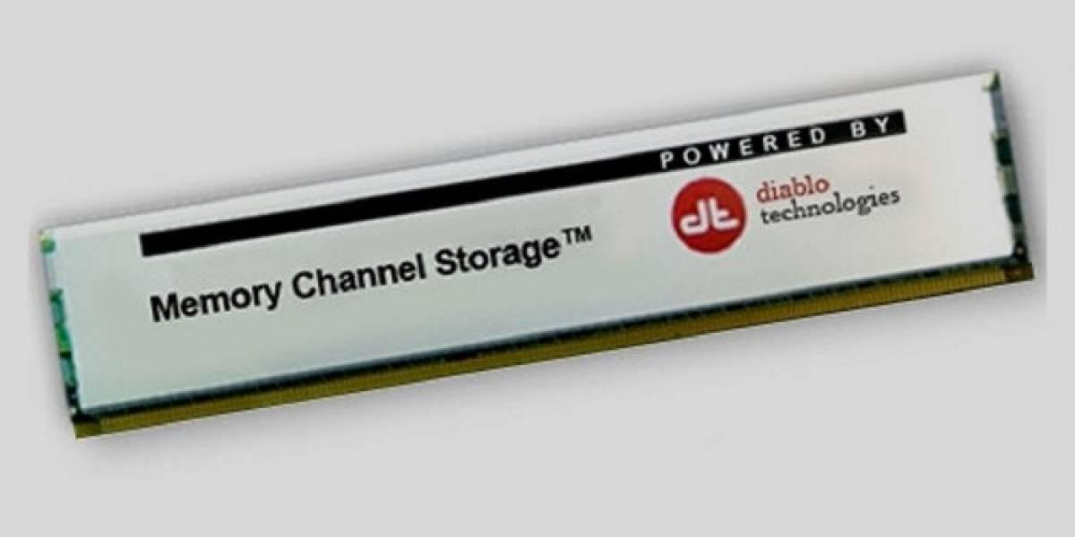 Diablo Technologies presenta una unidad SSD que se coloca en slots de DRAM