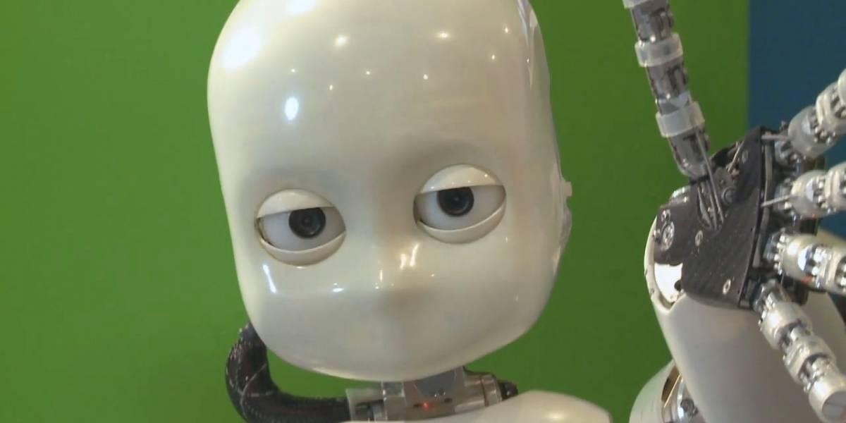 iCub: El robot que aprende como un niño humano