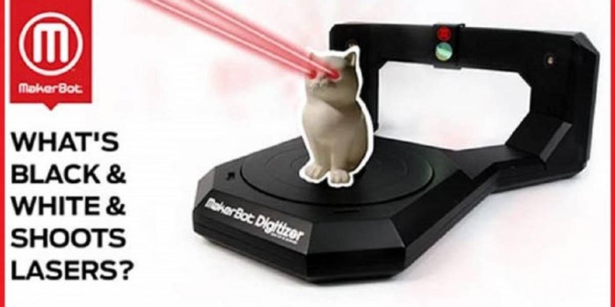 Escáner 3D MakerBot Digitizer en venta la próxima semana