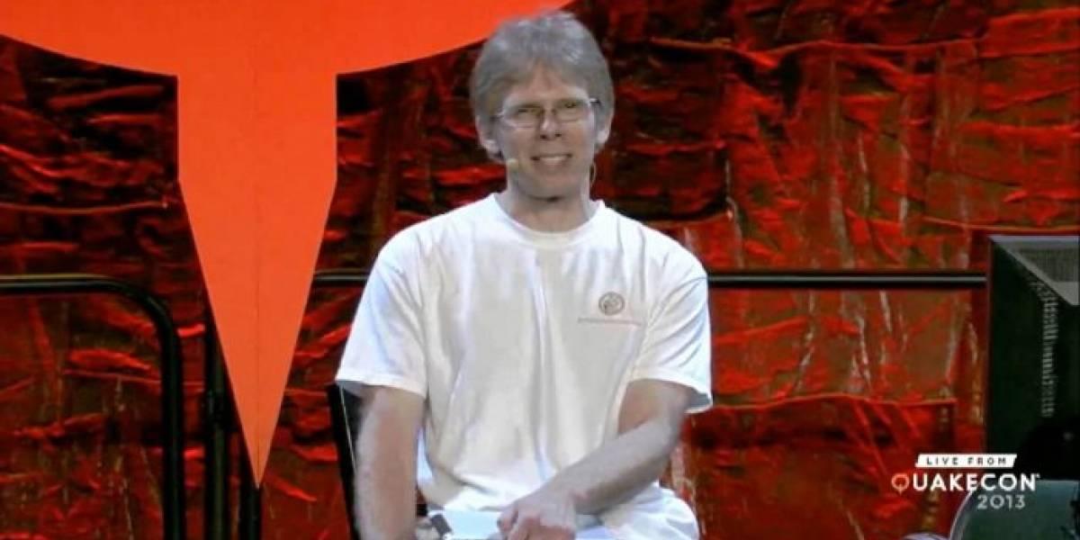 Hardware de la Xbox y la PS4 son esencialmente lo mismo, dice John Carmack