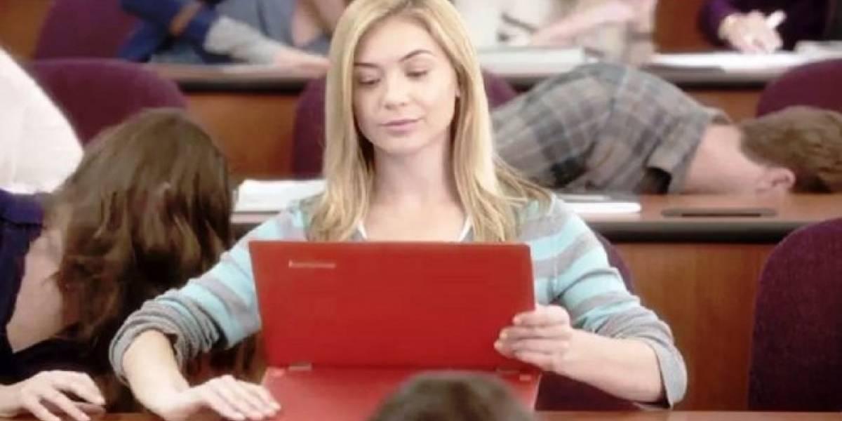 Microsoft muestra su nuevo comercial iPad vs Laptop Windows 8