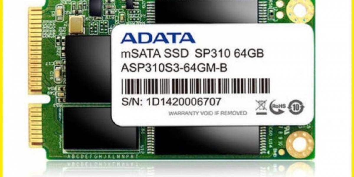 A-DATA lanza sus SSD mSATA dedicados al caché