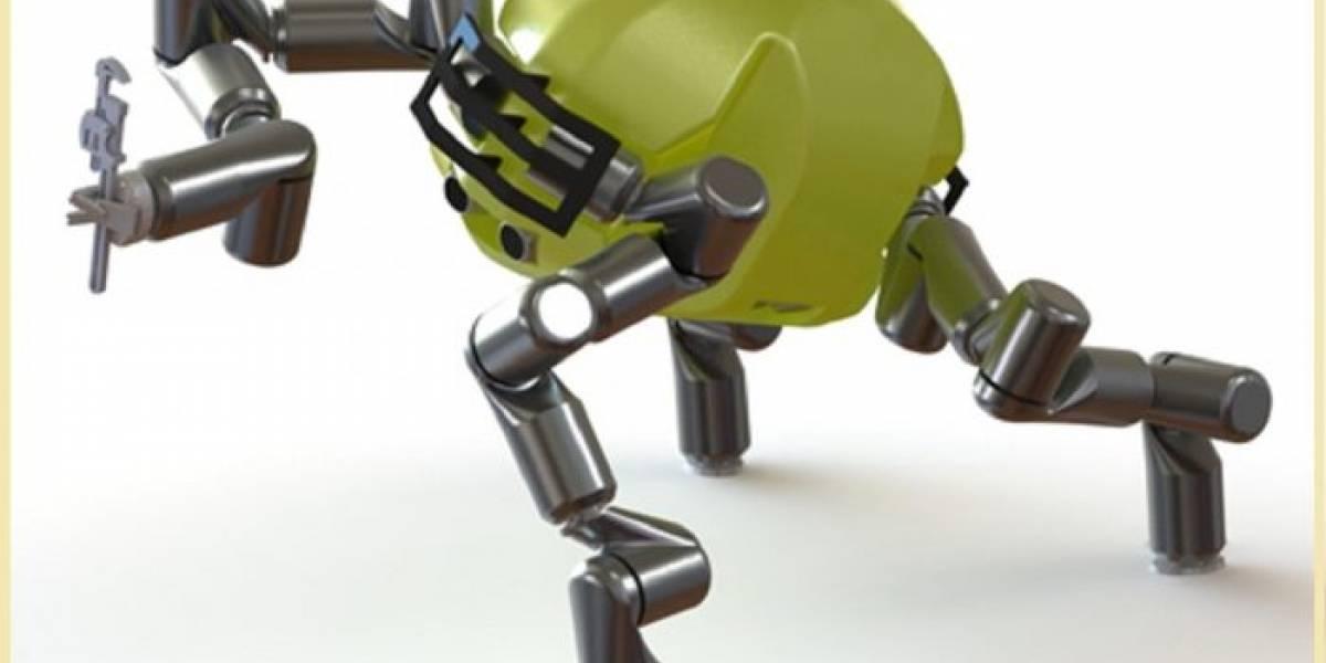 RoboSimian: El robot de la NASA ágil como un simio
