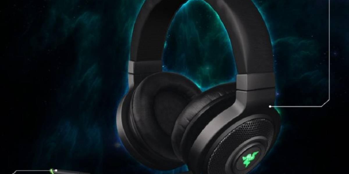 Razer lanza sus audífonos para gamers Kraken 7.1