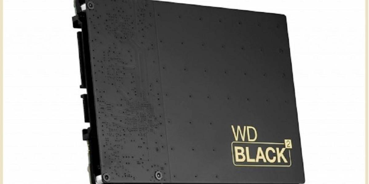 WD lanza Black 2 Unidad SSD+HDD no híbrida que no justifica su precio