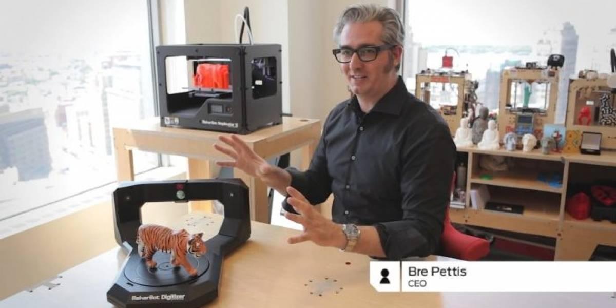 Conoce de cerca al escáner 3D MakerBot Digitizer