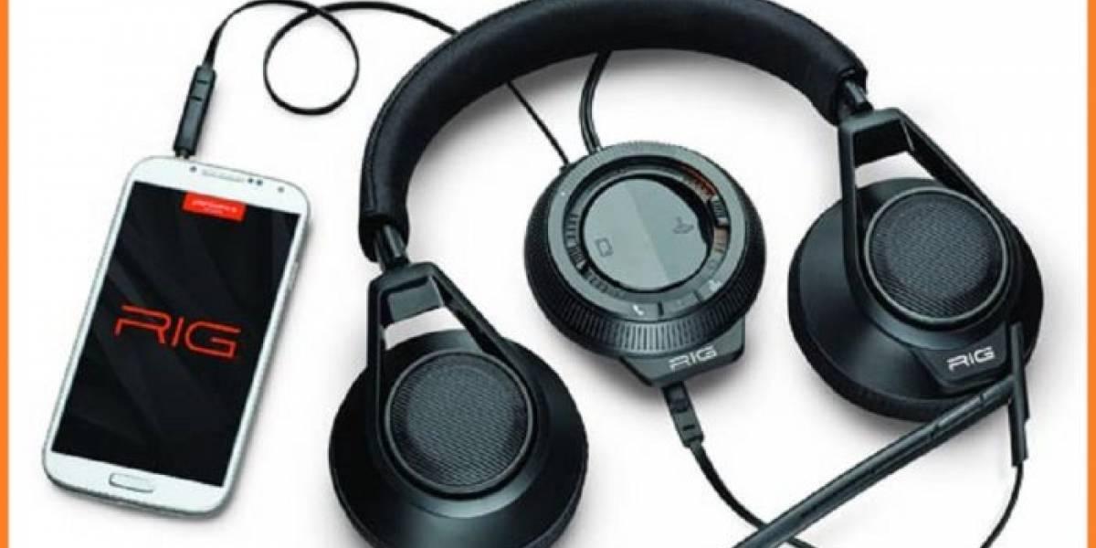 Conoce los audífonos gamer RIG con mezclador de audio