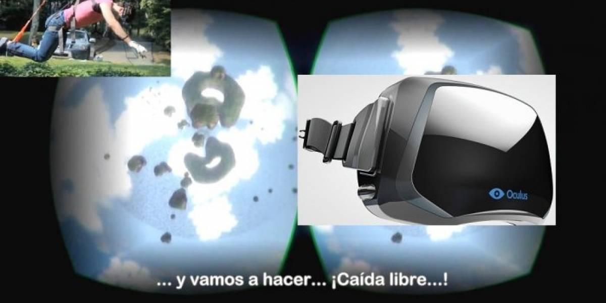 Realizan paracaidismo de caída libre con Oculus Rift