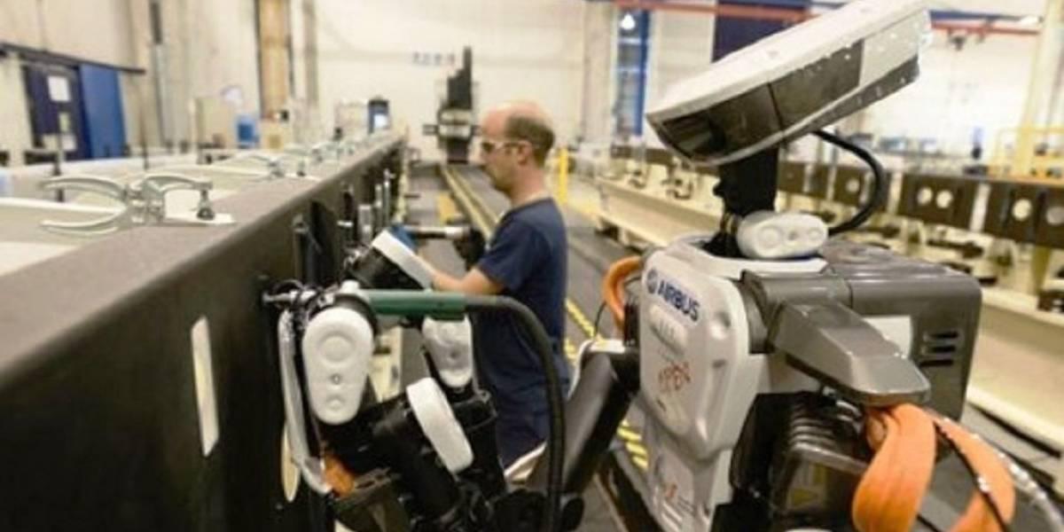 Airbus integra robots humanoides en fábrica de aviones en España