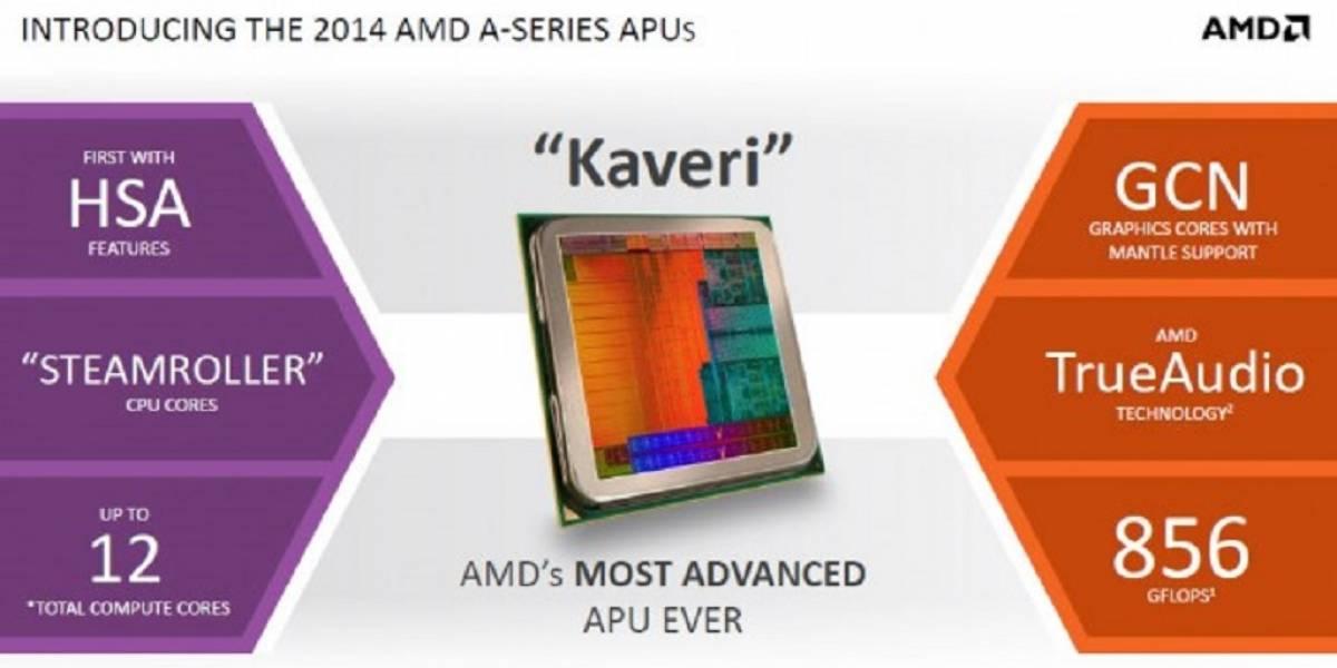 AMD posterga lanzamiento de Kaveri A8-7600 para el segundo semestre