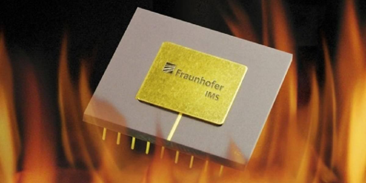 Diseñan chip que soporta temperaturas de 300 grados