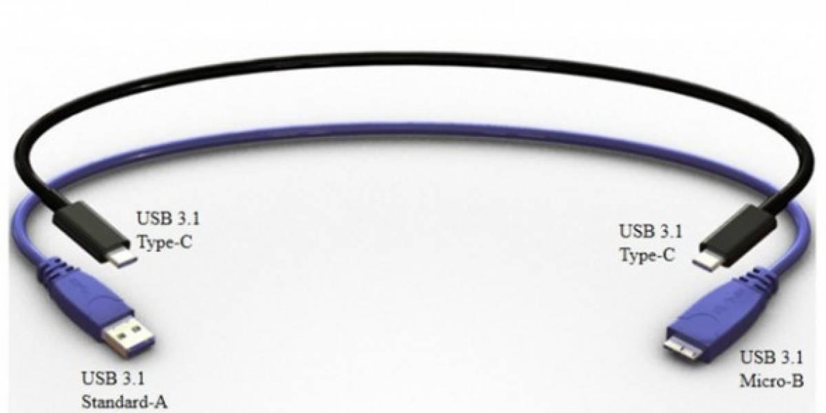 Revelan el nuevo conector USB Type-C