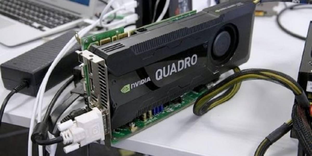 Conectan tarjeta Quadro K5000 por Thunderbolt a una MacBook Air