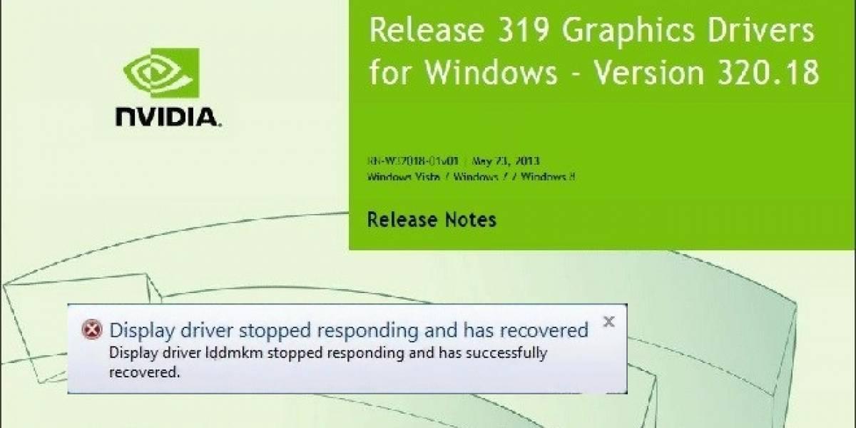 NVIDIA trabaja en solucionar el bug TDR de sus GeForce 319 y superiores