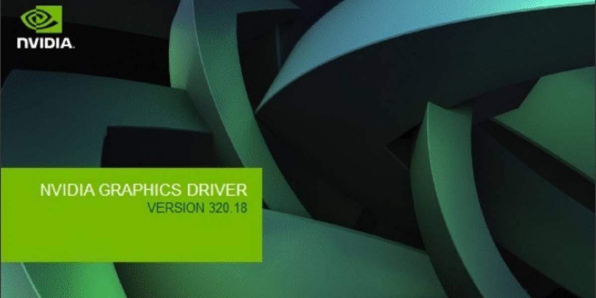 NVIDIA está investigando los problemas ocasionados por sus GeForce 320.18 WHQL