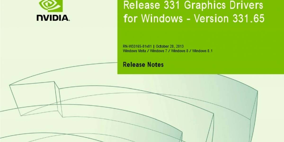 NVIDIA lanza sus controladores GeForce 331.65 WHQL