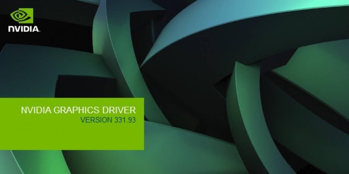 NVIDIA lanza sus controladores GeForce 331.93 Beta